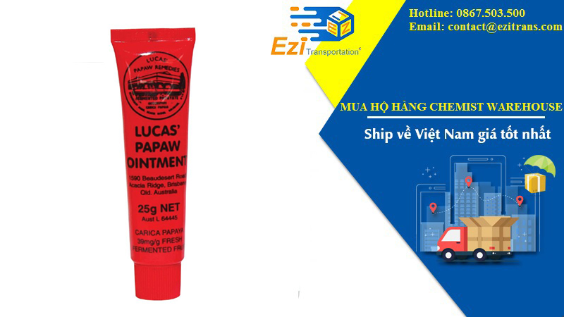 Thuốc mỡ Lucas Papaw Ointment 25g